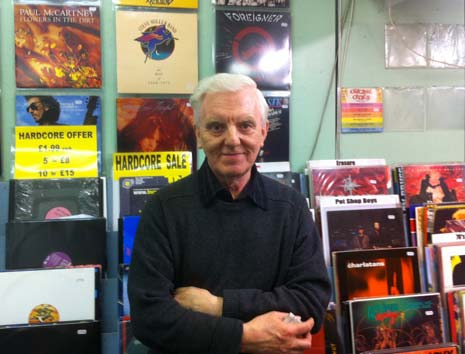 Hudsons Record shop chesterfield - Keith Hudson