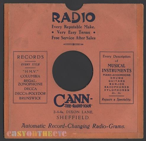 Cann The Radio Man, Sheffield