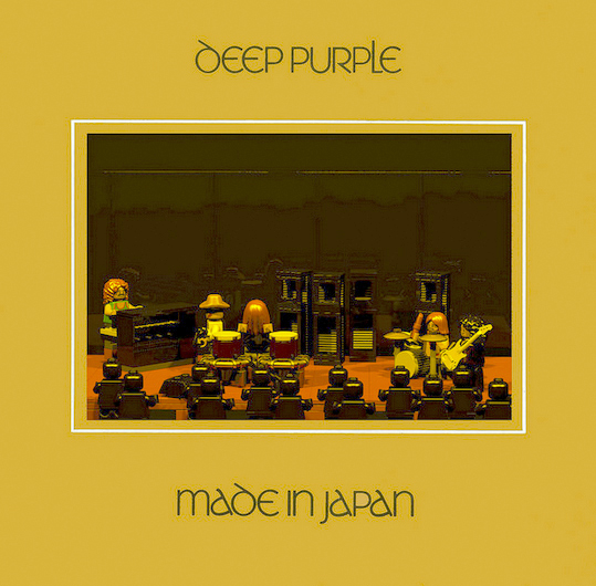 Deep Purple Made In Japan in lego